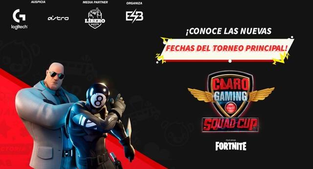 El mejor escuadrón de Fortnite de la competencia será acreedor de grandes premios.   Fuente: Claro Gaming.