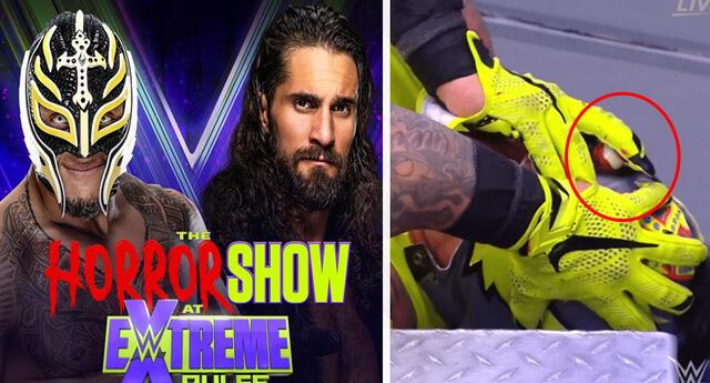 Rey Mysterio queda sin ojo tras lucha contra Seth Rollins en Extreme Rules