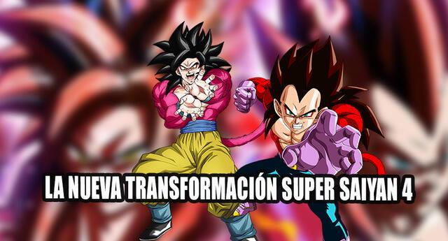 Super Saiyan 4 Limit Breaker nueva transformación Dragon Ball Super