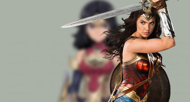 Wonder Woman es transformada en un anime y su apariencia inedita te conquistará