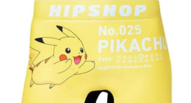 ¡La franquicia se reinventa! The Pokemon Company anuncia su propia línea de calzoncillos (FOTOS)