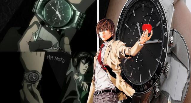 Venden reloj de Death Note que esconde un pedazo de la libreta, tal como el que usaba Light Yagami