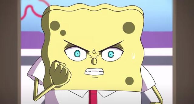 El anime de Bob Esponja lanza su primer capítulo.
