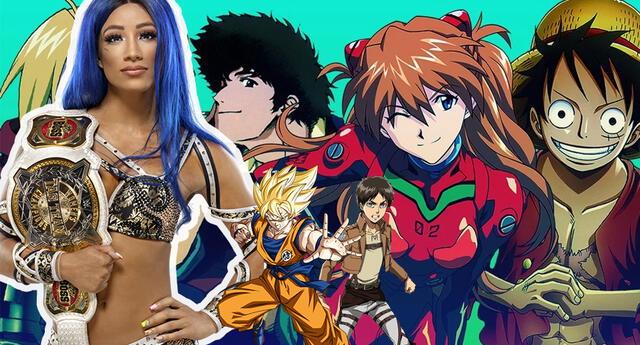 WWE Sasha Banks revela su anime favorito y recomienda God of Highschool