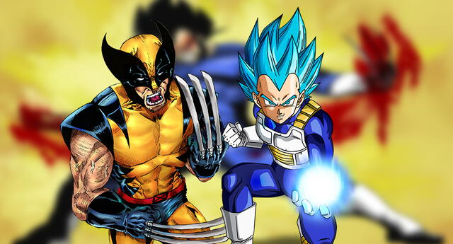 Vegeta y Wolverine se combinan en tributo de dragon ball noticias de anime