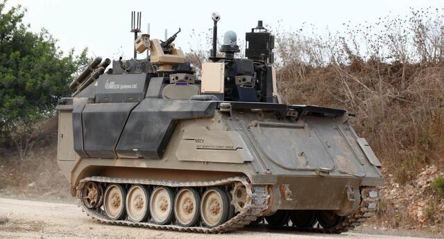 Este tanque de guerra se puede controlar con un mando de Xbox y tiene una interfaz inspirada en Call of Duty (VIDEO)