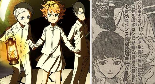 The Promised Neverland nuevo manga de Kaiu Shirai y Pozuka Demisu