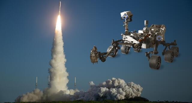 El rover Perseverance será el nuevo agente que explorará la superficie marciana en febrero de 2021. | Fuente: NASA.