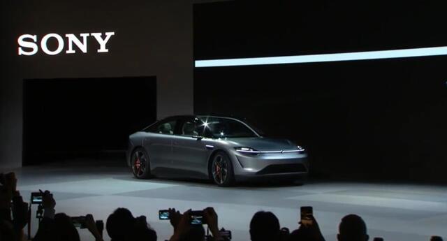 Vision-S: Sony anunció que ya tiene el prototipo de su auto eléctrico listo para ser probado en las calles (VIDEO)