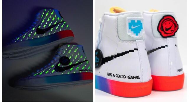Nike lanza colección de zapatillas inspirada en la cultura gamer y con temática retro