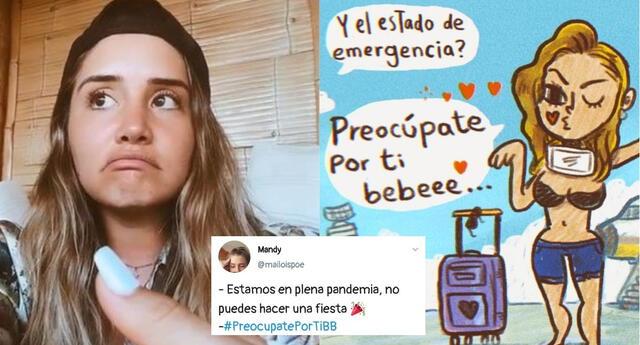 #PreocupatePorTiBB: La tendencia en Twitter que los usuarios usan para criticar a Ximena Hoyos