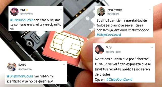 ¿Por qué #ChipsConCovid es tendencia en Perú?
