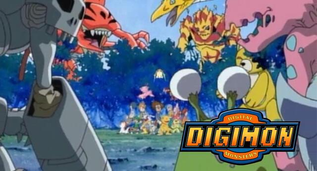 Las aventuras de Tai y los niños elegidos narradas en Digimon Adventure iniciaron un día como hoy hace 21 años.   Fuente: TOEI Animation.