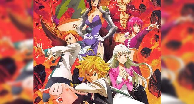 Nanatsu no Taizai temporada 4 fecha de estreno