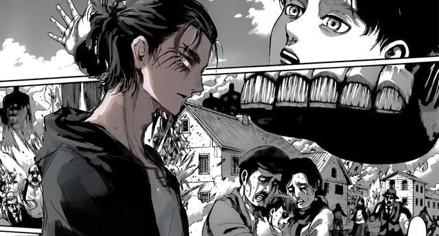 Shingeki no Kyojin 131 spoilers en español : El secreto de Eren Jaeger NOTICIAS DE ANIME