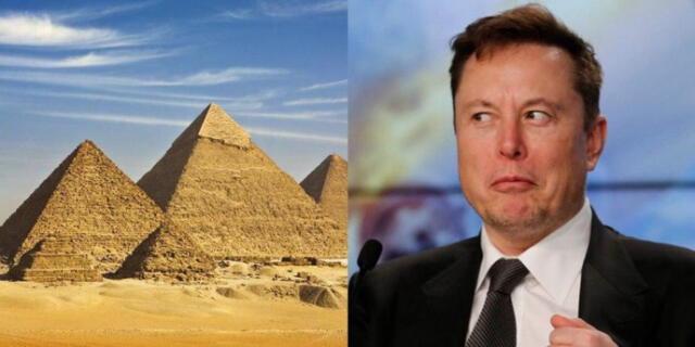 Elon Musk asegura que las pirámides fueron construidas por extraterrestres y Egipto le responde