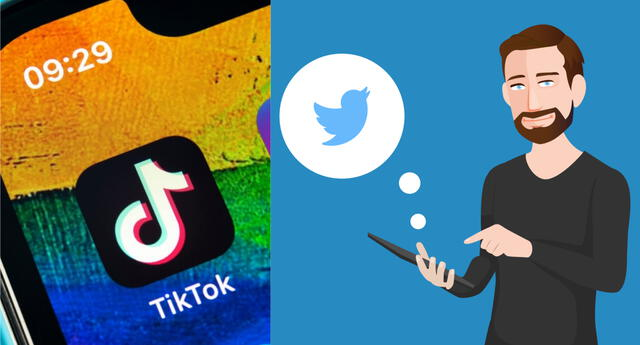 Twitter negocia una posible combinación con TikTok para evadir su prohibición en Estados Unidos. | Fuente: Composición.