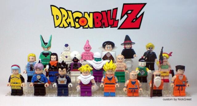 Dragon Ball Z: Esta es la increíble colección de LEGO inspirado en el popular anime de Akira Toriyama (FOTOS)