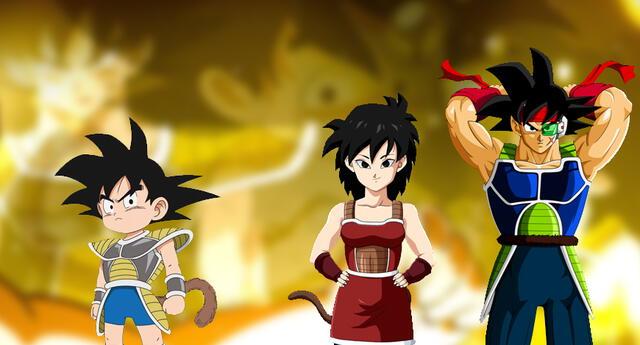 Dragon Ball revisita a Goku viendo a sus padres Bardock y Gine