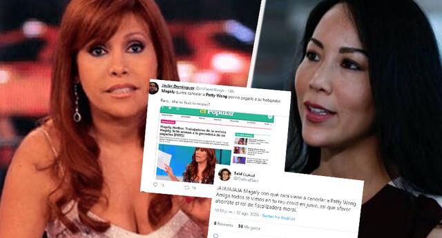 Magaly Medina es criticada tras denuncias a Patty Wong