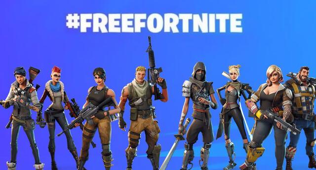 #FreeFortnite es tendencia en Twitter