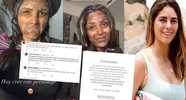 Vania Torres: Bioderma Perú lanza comunicado tras acusaciones de racismo y recibe críticas