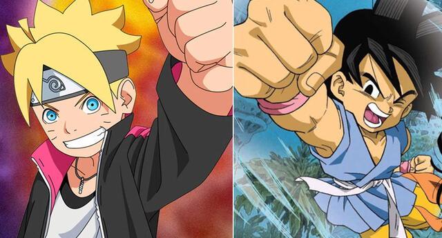 Boruto y Dragon Ball GT