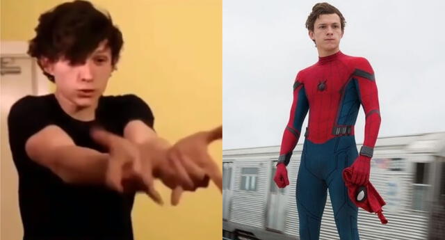 Tom Holland tuvo que pasar un riguroso casting para quedarse con el papel de Spider-Man en el MCU. | Fuente: Composición.
