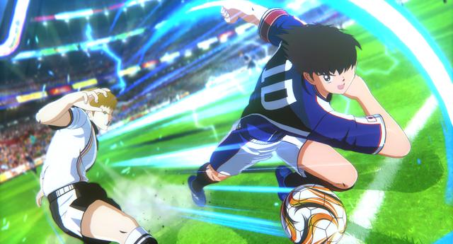 El nuevo videojuego de Supercampeones presentará una jugabilidad espectacular digna del clásico anime. | Fuente: Bandai Namco.