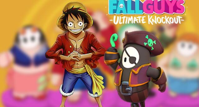 Fall Guys: La tripulación de One Piece llega al popular videojuego