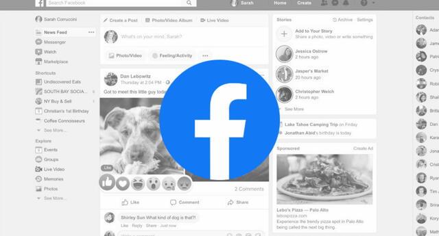 Facebook le pondrá fin a la interfaz clásica de su red social que acompañó a sus usuarios por más de 5 años consecutivos. | Fuente: Composición.