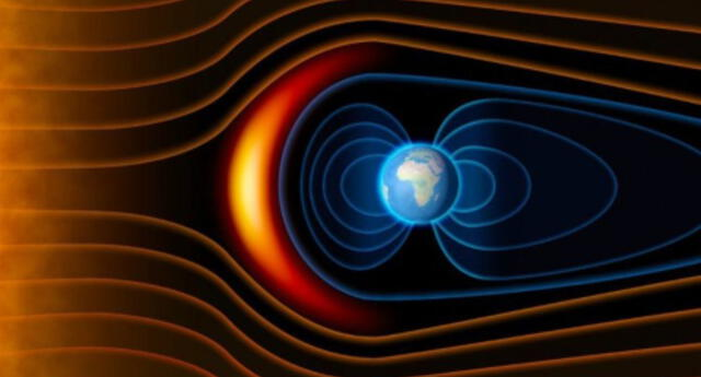 """¿Te preocupa? Esta es la """"anomalía"""" del campo magnético de la Tierra  que preocupa a los científicos de la NASA"""