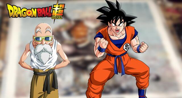 Dragon Ball Super: Así se verá Goku de viejo como el Maestro Roshi