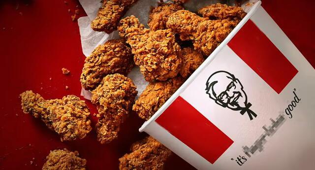 ¡Ya no será para chuparse los dedos! KFC cambia eslogan por la Covid-19 (VIDEO)