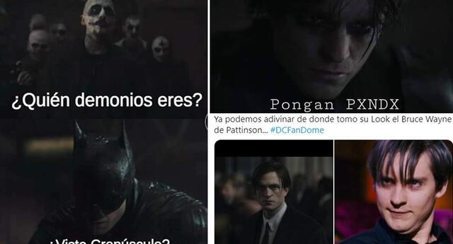 Usuarios se burlan de Robert Pattison como Batman en hilarantes memes