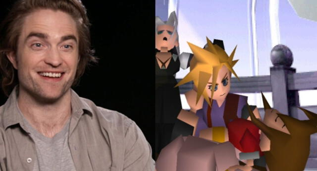 Robert Pattinson revela que su juego favorito es Final Fantasy 7 y que le hizo llorar (VIDEO)