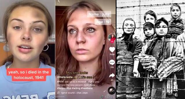 Reto en TikTok donde finges ser víctima del Holocausto causa indignación