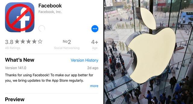 Apple entra a una nueva guerra: Facebook lo acusa de bloquear sus actualizaciones por esta razón