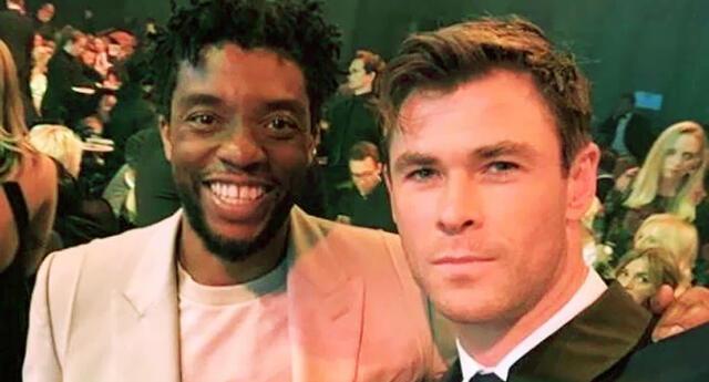 "Chris Hemsworth se despide de Chadwick Boseman: ""Te voy a extrañar amigo"""