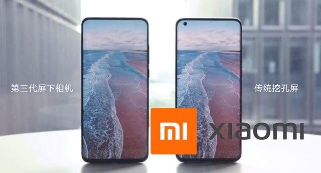 Xiaomi pretende adelantarse a la competencia y ha demostrado cómo funcionará su nueva tecnología para cámaras frontales.   Fuente: Xiaomi.