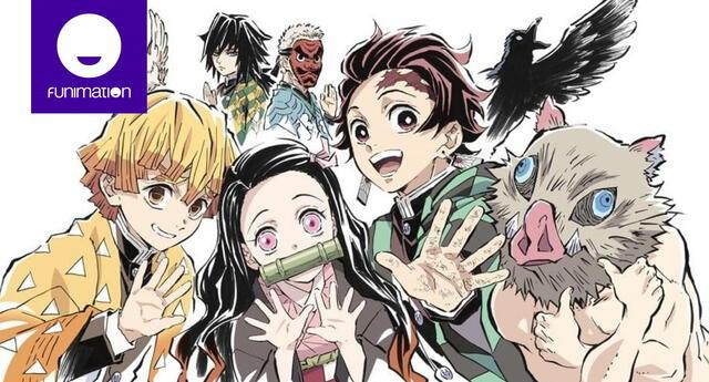 Funimation Latinoamerica anuncia Kimetsu no Yaiba ¿tendrá doblaje latino?