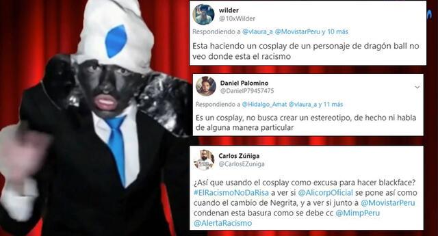 Streamer peruano hace 'Blackface' y genera polémica entre usuarios
