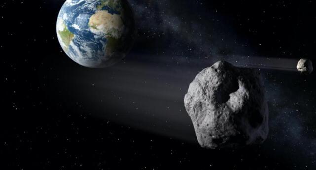 ¡Nuevamente! Asteroide cerca de la orbita de la Tierra este mismo martes 1ro de septiembre