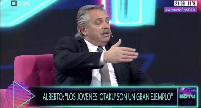 presidente de argentina pone de ejemplo a los otakus