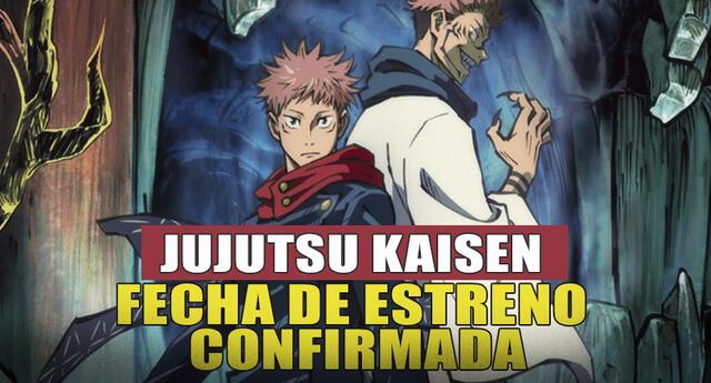 Jujutsu Kaisen: Se revela fecha de estreno de su anime