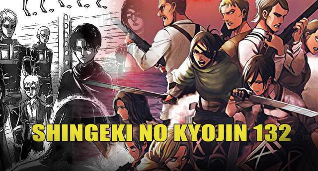 Shingeki no Kyojin 132: nuevo comandante