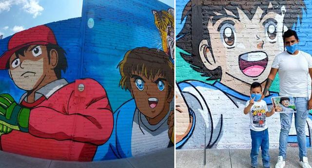 Crean mural de 'Los Súper Campeones' en México y se vuelve viral (FOTOS)