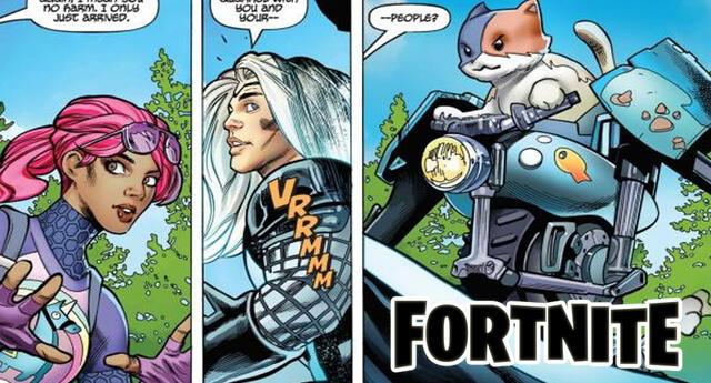 El universo de Fornite pertenece oficialmente al canon de Marvel