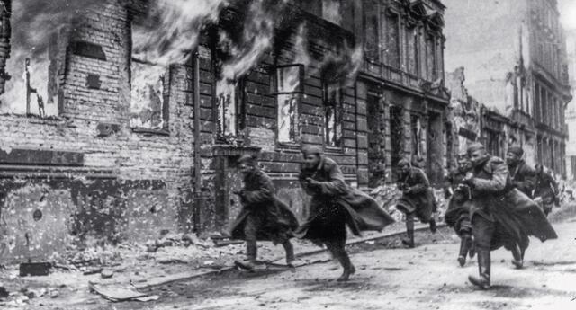 La Segunda Guerra Mundial cambió el rumbo de la historia de la humanidad y, hasta la fecha, se mantiene como el conflicto bélico que más vidas ha cobrado.   Fuente: Getty Images.