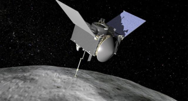 OSIRIS-REx: Sonda espacial de la NASA registró comportamiento nunca antes visto del asteroide Bennu